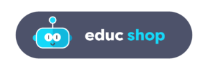Logo de la boutique en ligne de robot éducatif educshop